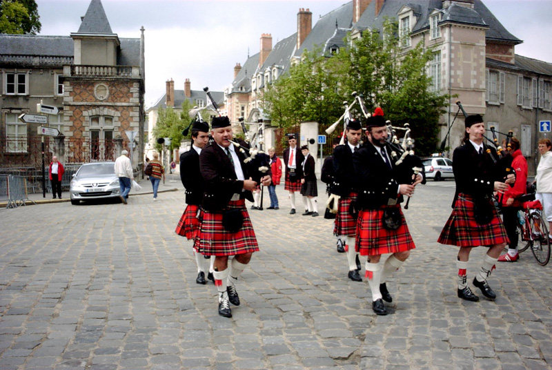 Pipe Band Montmartre Highlanders Orleans